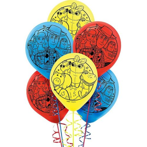Toy Story 4 Balloons, 6-pk