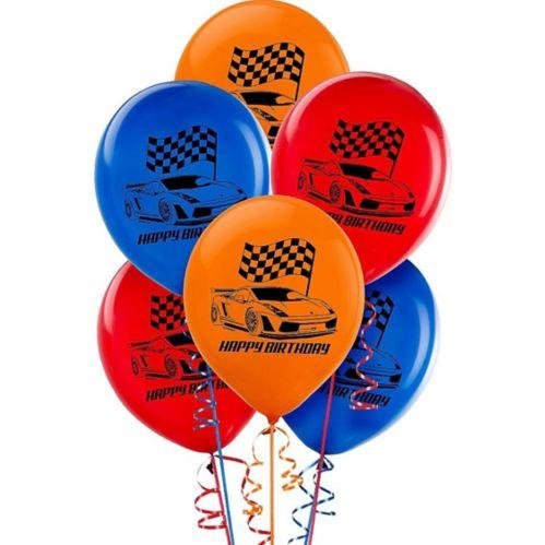 Hot Wheels Balloons, 6-pk