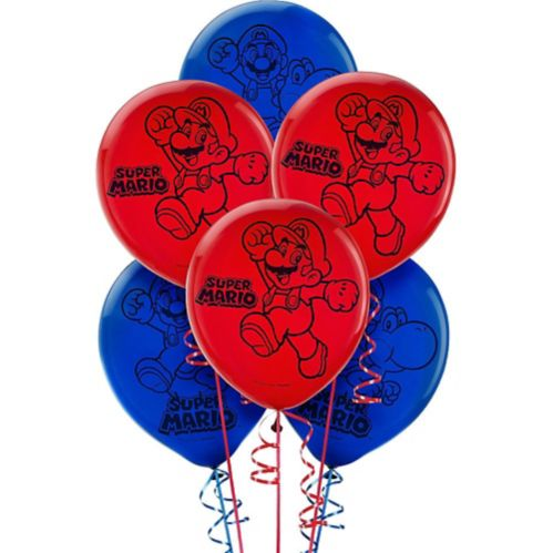 Super Mario Balloons, 6-pk Product image