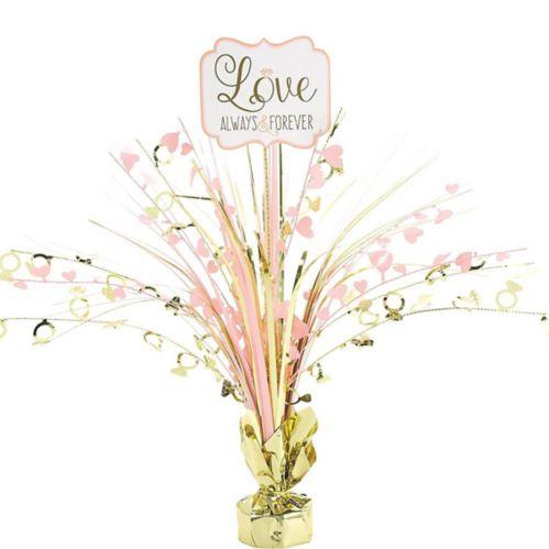 Sparkling Wedding Spray Centerpiece