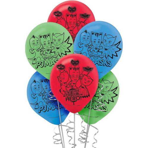 PJ Masks Balloons, 6-pk