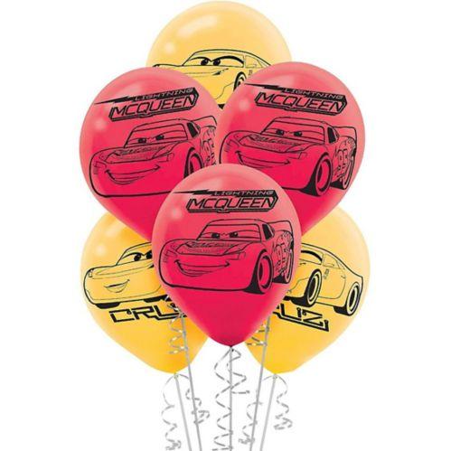 Cars 3 Balloons, 6-pk