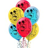 Ballons 1er anniversaire Mickey Mouse, paq. 15 | Disneynull