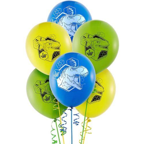 Ballons Monde jurassique, paq. 6