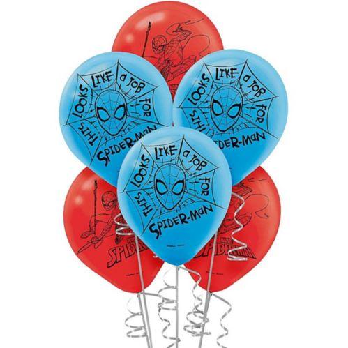 Spider-Man Webbed Wonder Balloons, 6-pk