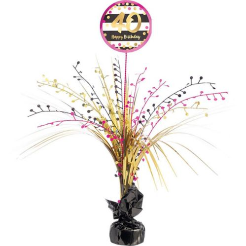 40th Birthday Spray Centerpiece Product image