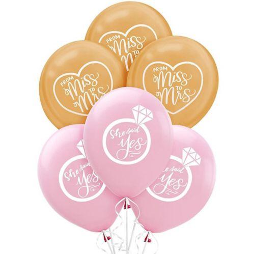 Mint to Be Wedding Balloons, 15-pk