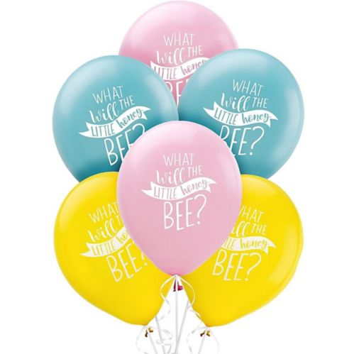 Little Honey Bee Balloons, 15-pk
