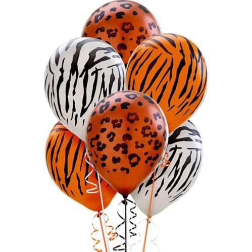Animal Print Pearl Balloons, 20-pk