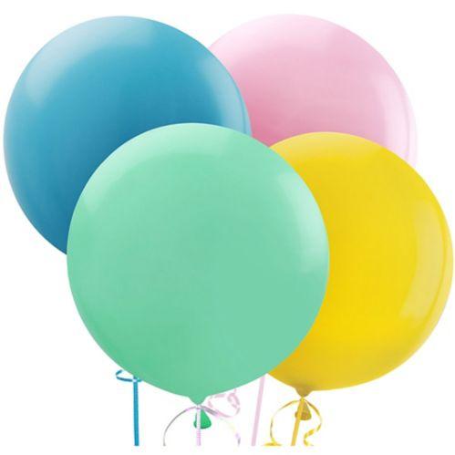 Ballons en latex, 24 po, paq. 4 Image de l'article