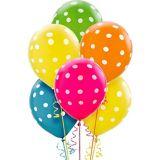 Bright Polka Dot Balloons, 20-pk | Amscannull
