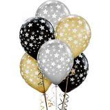 Metallic Star Balloons, 20-pk   Amscannull