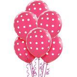 Polka Dot Balloons, 6-pk | Amscannull
