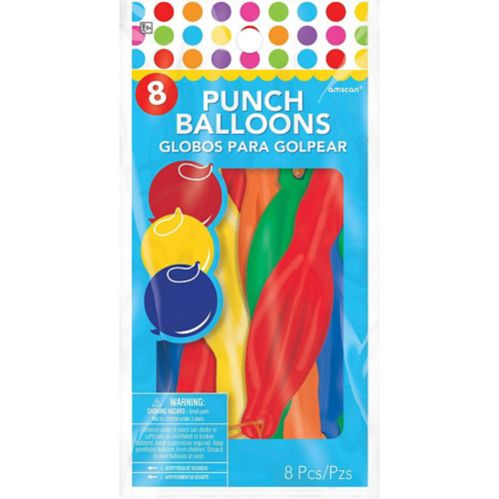 Punch Balloons, 8-ct