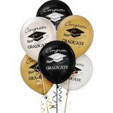 Ballons de remise des diplômes assortis, paq. 15