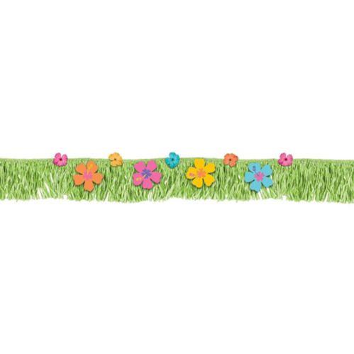 Hibiscus Deck Fringe Banner