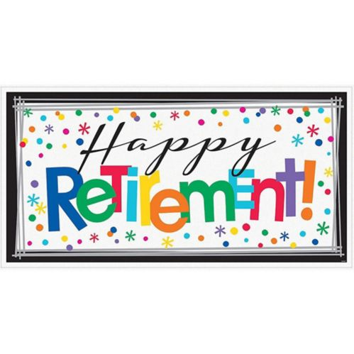 Happy Retirement Celebration Banner