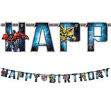 Transformers Jumbo Add-An-Age Letter Birthday Banner, 10-ft | Hasbronull