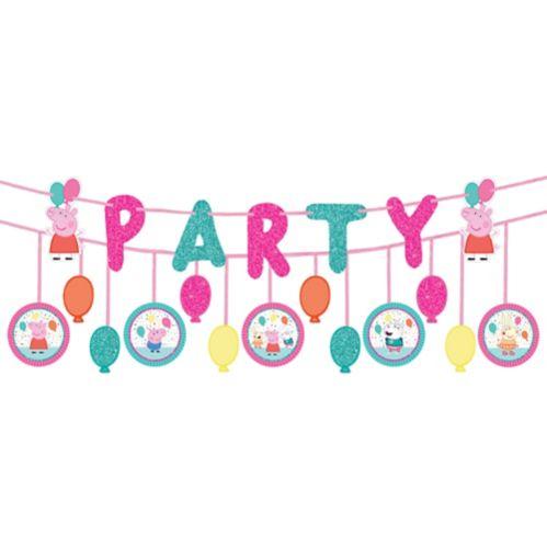 Banderole d'anniversaire Peppa Pig Image de l'article