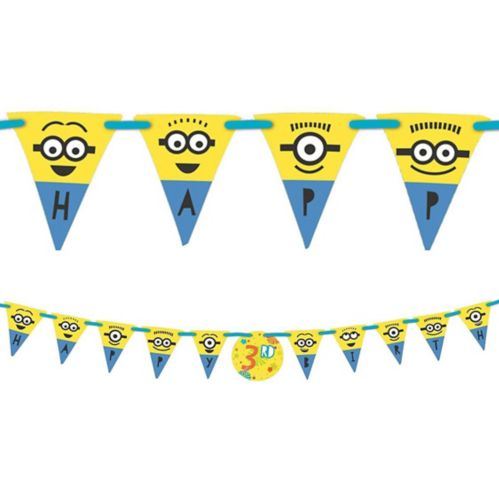 Minions Birthday Banner Kit