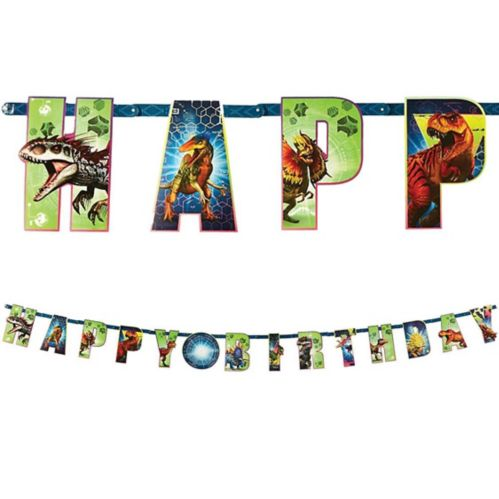 Jurassic World Birthday Banner Kit