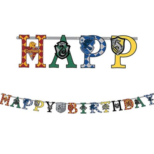 Harry Potter Birthday Banner Kit