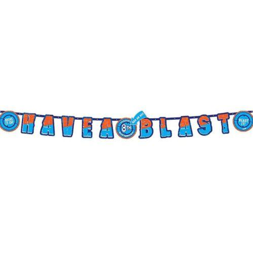 Banderole d'anniversaire Nerf
