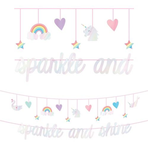 Magical Rainbow Banner with Mini Banner