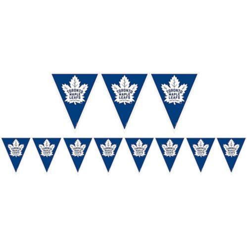 Banderole à fanions Maple Leafs de Toronto