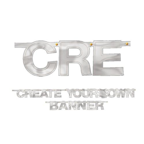 Create-Your-Own Banner, Silver