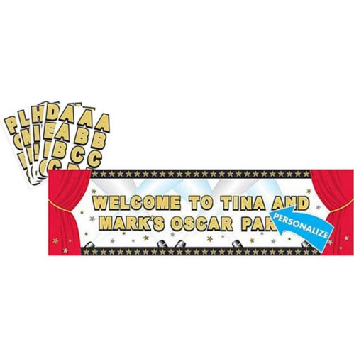 Giant Hollywood Personalized Banner Kit