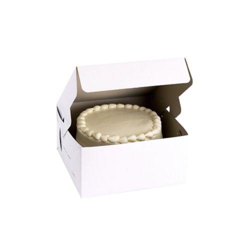 White Square Cake Box Product image