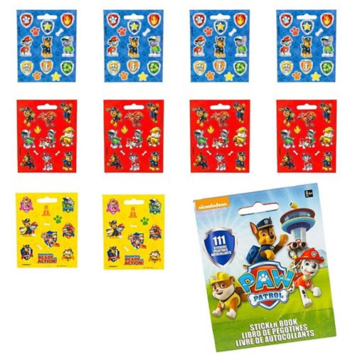 PAW Patrol Sticker Book, 9 Sheets