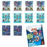 Carnet d'autocollants des Avengers, 9feuilles | Marvelnull
