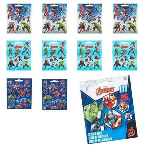 Avengers Sticker Book, 9 Sheets