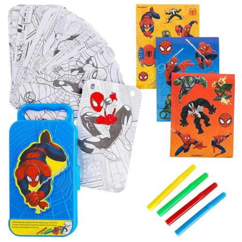 Spider-Man Sticker Activity Box