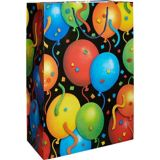 Colourful Balloons & Confetti Gift Bag