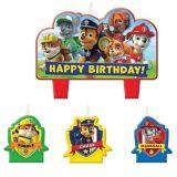 PAW Patrol Birthday Candles Set, 4-pc | Nickelodeonnull