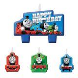 Thomas the Tank Engine Birthday Candles Set, 4-pc