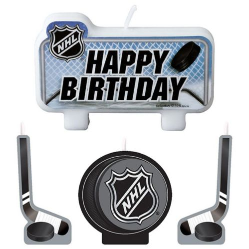 NHL Candle Set, 4-pk