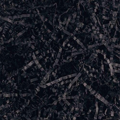 Black Crinkle Paper Shreds