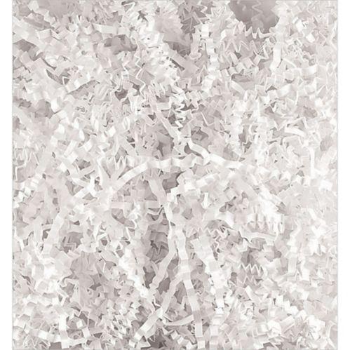 White Crinkle Paper Shreds