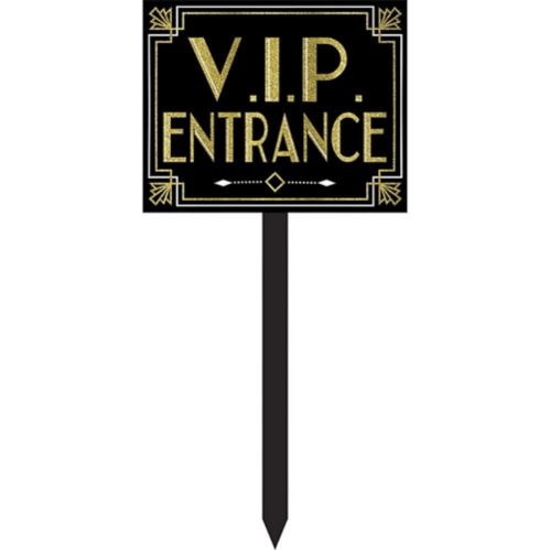 Piquet de jardin Entrée VIP Hollywood scintillant