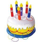 Jeu d'anneaux gâteau d'anniversaire