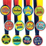 Assorted Award Medals, 12-pk | Amscannull