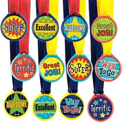 Médailles d'honneur variées, paq. 12