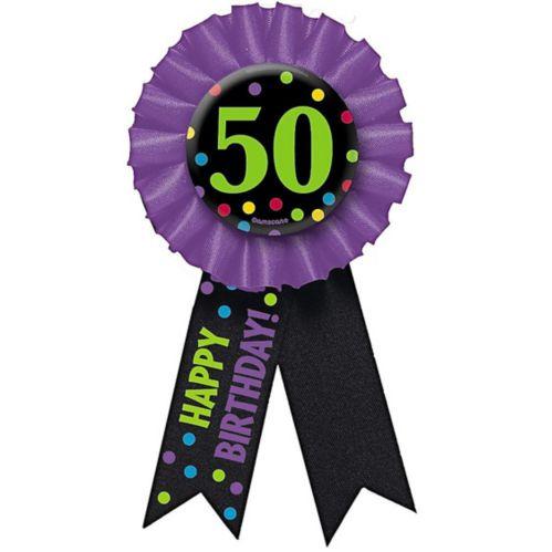 50th Birthday Award Ribbon