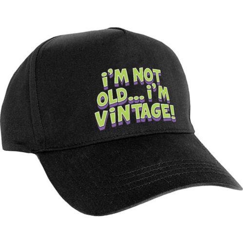 Casquette de baseball I'm Not Old I'm Vintage Image de l'article