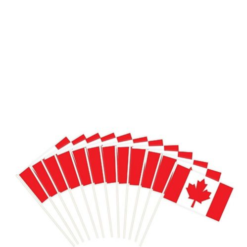 Canadian Flags, 12-ct Product image