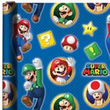 Super Mario Gift Wrap